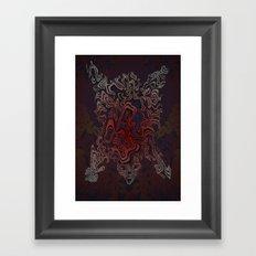 Bear Sinew (Bear Skin companion) Framed Art Print