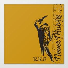 Yellowhammer NoMoore (Gold variation) Canvas Print