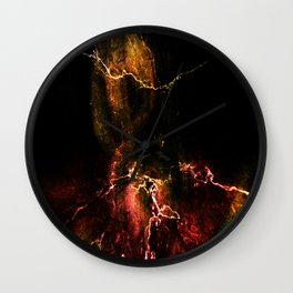 Concept abstract : Anno flore amet Wall Clock