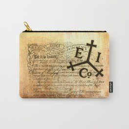 East India Company Carry-All Pouch