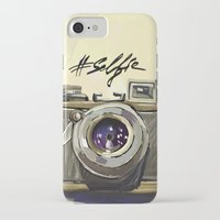 selfie iPhone & iPod Cases featuring Selfie by kaiartem