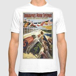 Vintage poster - Indianapolis Motor Speedway T-shirt