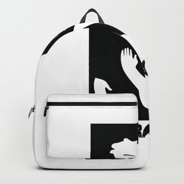 No place for racism - human equality Backpack