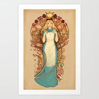 Curious and Curiouser Art Print