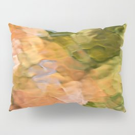 Cinnamon Mosaic Abstract Art Pillow Sham