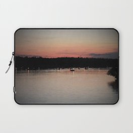 Lights on the water Laptop Sleeve