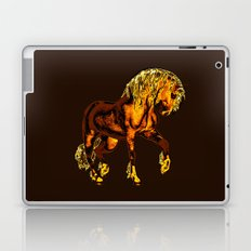 HORSES-Golden Palomino Laptop & iPad Skin