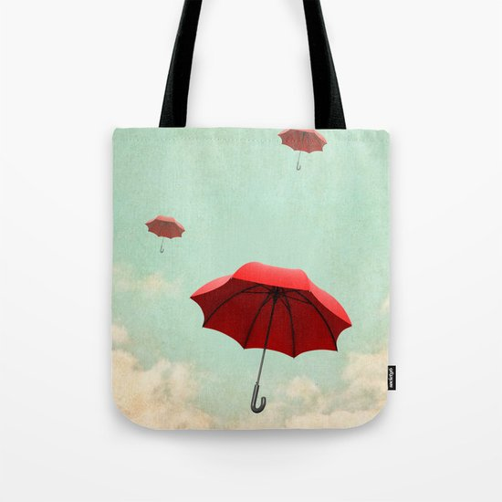 rising into the blue Tote Bag