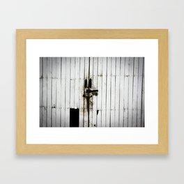"""""""Old Door"""" Framed Art Print"""