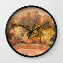 Idaho Gem Stone 13 Wall Clock