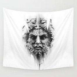 King Of Diamonds Wall Tapestry