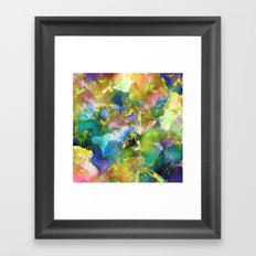 Hibiscus Trumpets #2 Framed Art Print