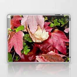 RED AUTUMNAL OCTOBER SPIRIT Laptop & iPad Skin