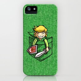 HAPPY POCKET LINK iPhone Case