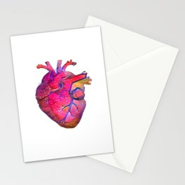 ALTERED Anatomical Heart Stationery Cards