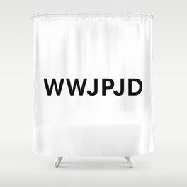 What Would John Paul Jones Do Shower Curtain