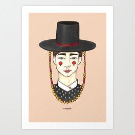 Ho-Chull Art Print