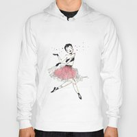 ballet Hoodies featuring Ballet by Ianah Maia