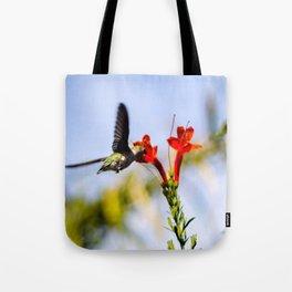 Palm Springs Hummingbird Tote Bag