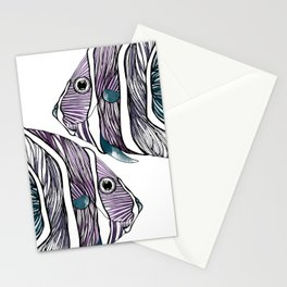 french angelfish Stationery Cards