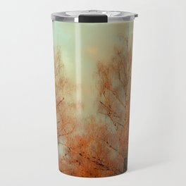 TREES AT SUNSET 3 Travel Mug