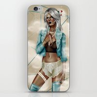 celestial iPhone & iPod Skins featuring CELESTIAL  by Enola Jay