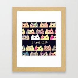 cat-19 Framed Art Print