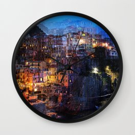 Dream Holidays Wall Clock