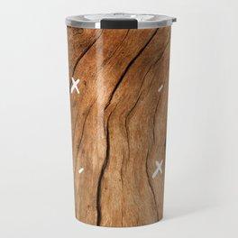 Old Wood Travel Mug