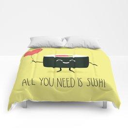 All you need is sushi Comforters