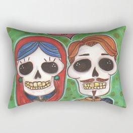 Te Amo Day of the Dead Rectangular Pillow
