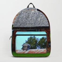 Vintage Acadian Barn Backpack