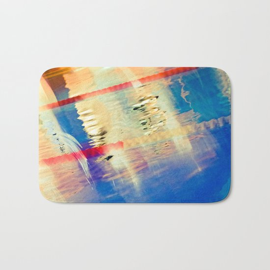 Swimming Pool 01B - Abstract Bath Mat