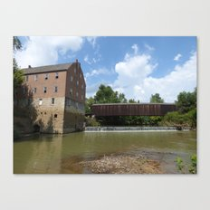 bollinger mill 2 Canvas Print