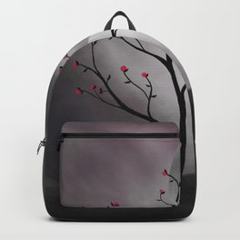 Midnight Peach Backpack