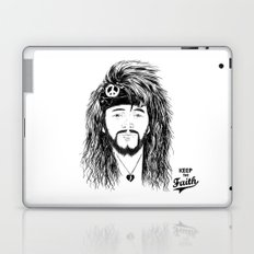 KEEP THE FAITH Laptop & iPad Skin