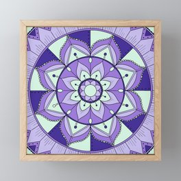 Mandala Maze Framed Mini Art Print