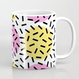 Memphis Polka Dot Sprinkles Pattern 131 Coffee Mug