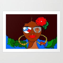 Pride and Culture Art Print