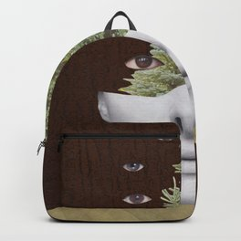 Almas de mirada omnipotente Backpack