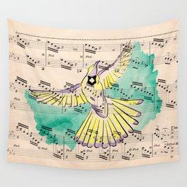 Mandolin Waltz Wall Tapestry
