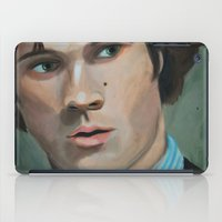 sam winchester iPad Cases featuring Bedtime Stories (Sam Winchester) by Lauren Craig