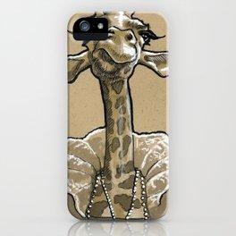 Geraldine the Giraffe iPhone Case