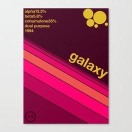 galaxy single hop Canvas Print