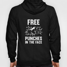 Free Punches In The Face Hoody