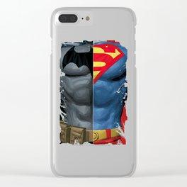 Gotham V Krypton Clear iPhone Case