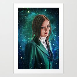 Hannibal 'Margot Verger' Galaxy Art Print Art Print
