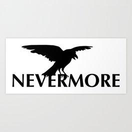 Nevermore - The Raven Art Print
