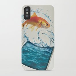 Two Dimensional Freedom iPhone Case
