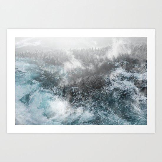 Wash Out Art Print